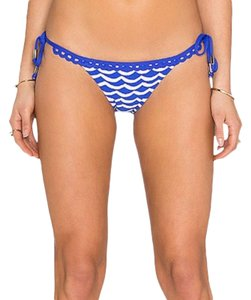 SeaFolly Tidal Wave Brazilian Side Tie Bikini Bottom