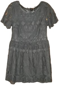 Trixxi short dress Black Lace on Tradesy