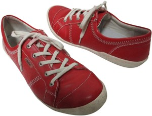 Josef Seibel red Flats