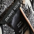 Thom Browne Black and Ivory & White Stretch Satin Sheath Mid-length Short Casual Dress Size 12 (L) Thom Browne Black and Ivory & White Stretch Satin Sheath Mid-length Short Casual Dress Size 12 (L) Image 11