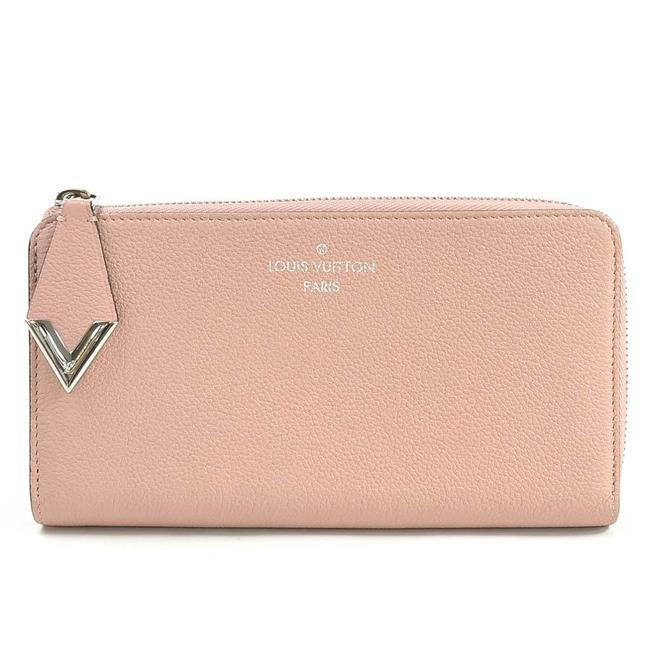 Louis Vuitton Magnolia / Pink L L-shaped Zipper Portofeuil Comet Taurillon Leather Ladies M60148 Wallet Louis Vuitton Magnolia / Pink L L-shaped Zipper Portofeuil Comet Taurillon Leather Ladies M60148 Wallet Image 1