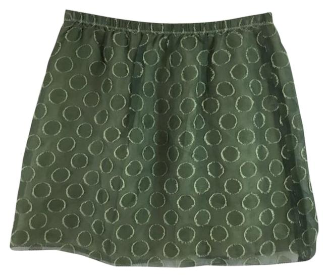 Item - Green Circle Skirt Size 2 (XS, 26)