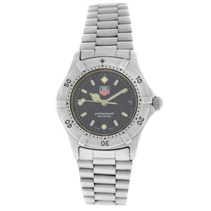 Tag Heuer Ladies Tag Heuer Professional 962.013 Stainless Steel 34MM Date Quartz