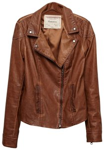 Cartonnier brown Leather Jacket