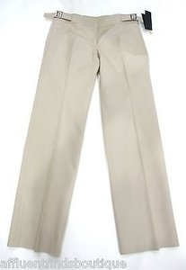 Burberry Cotton Khaki Pants