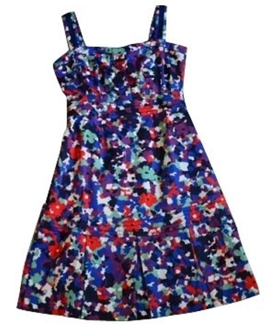 Preload https://img-static.tradesy.com/item/276/tory-burch-purple-blue-and-red-print-cocktail-dress-size-4-s-0-0-650-650.jpg
