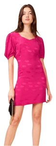 Rouje short dress Fuchsia Pink on Tradesy