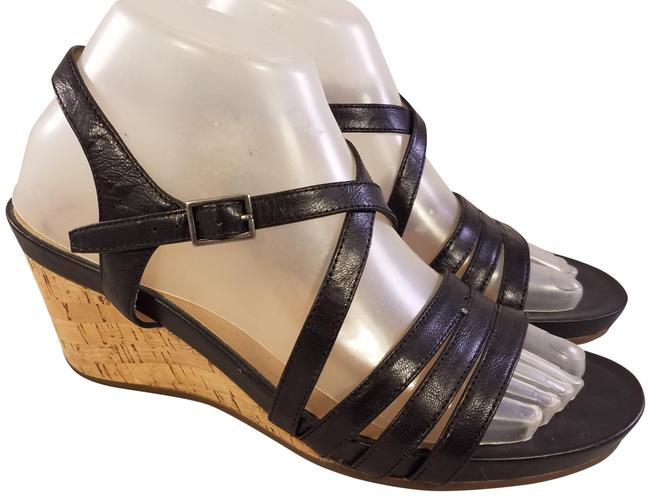 Item - Black Loretta 3993 Leather Woman New Sandals Size US 8 Narrow (Aa, N)