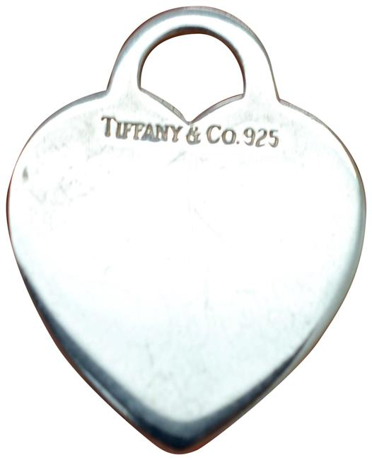 Item - Silver 925 Sterling Blank Engravable Heart Tag Pendant Charm