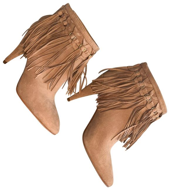 Nine West Sand Nw Fringe Ankle Boots/Booties Size US 6 Regular (M, B) Nine West Sand Nw Fringe Ankle Boots/Booties Size US 6 Regular (M, B) Image 1