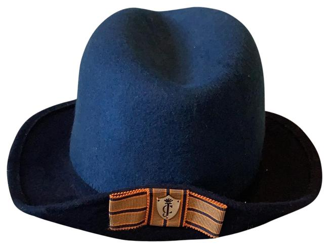 Juicy Couture Shades Of Blue Fedora Hat Juicy Couture Shades Of Blue Fedora Hat Image 1