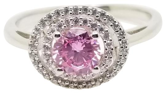 Preload https://img-static.tradesy.com/item/27601188/pink-and-white-75-ct-round-created-sapphire-micro-set-double-halo-accents-ring-0-3-540-540.jpg