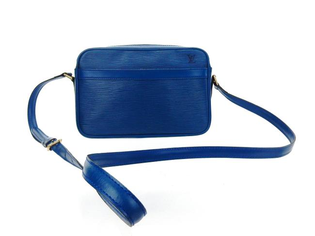 Item - Shoulder Crossbody Trocadero 23 Coated Blue Epi Leather Messenger Bag