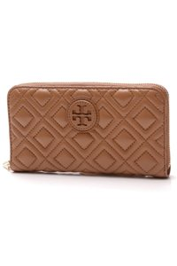 Tory Burch Tory Burch Marion Quilted Continental Wallet - Tiger's Eye