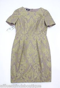 Lafayette 148 New York Sugarcane Multi Jacquard Dress
