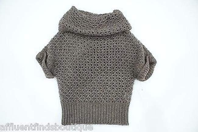 Preload https://item1.tradesy.com/images/escada-brown-drape-neck-crochet-sweater-or-2760190-0-0.jpg?width=400&height=650