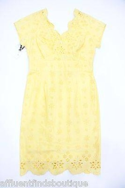 Preload https://item4.tradesy.com/images/milly-sun-yellow-eyelet-shift-dress-style-87ss01692-2760193-0-0.jpg?width=400&height=650
