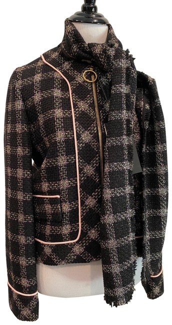 Item - Multicolor Plaid Jacket Size 8 (M)