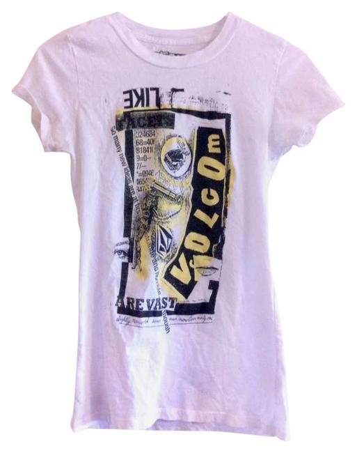 Preload https://item5.tradesy.com/images/volcom-white-tee-shirt-size-4-s-276029-0-0.jpg?width=400&height=650