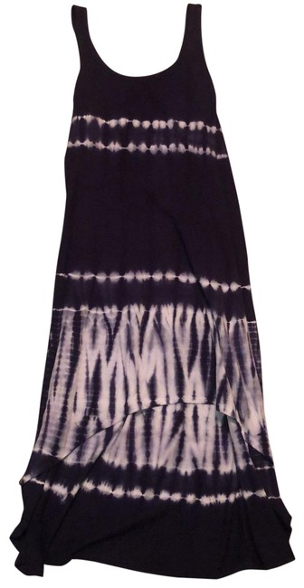 Item - Blue Tye Die High Low Performance Short Casual Dress Size 10 (M)