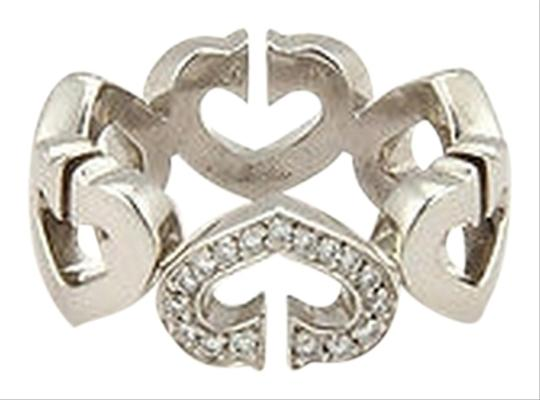 Preload https://item3.tradesy.com/images/cartier-cartier-18k-white-gold-75mm-diamond-c-heart-band-size-51-2760337-0-0.jpg?width=440&height=440