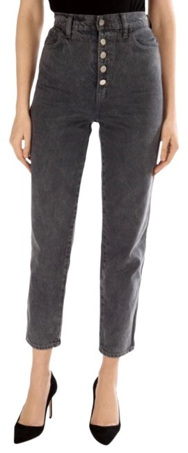 J Brand Haven Jb001725 Heather Button Fly In Straight Leg Jeans Size 2 (XS, 26) J Brand Haven Jb001725 Heather Button Fly In Straight Leg Jeans Size 2 (XS, 26) Image 1