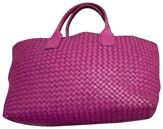 Item - 115664v 9131 5200 Purple Raspberry Leather Tote