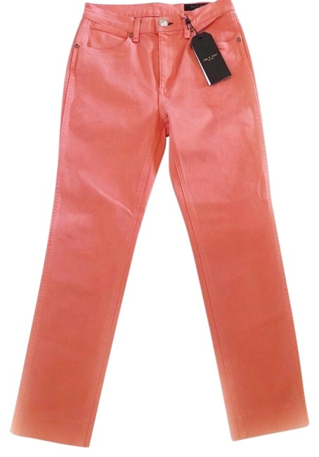 Rag & Bone Coral Medium Wash Vintage Cigarette Haze Straight Leg Jeans Size 4 (S, 27) Rag & Bone Coral Medium Wash Vintage Cigarette Haze Straight Leg Jeans Size 4 (S, 27) Image 1