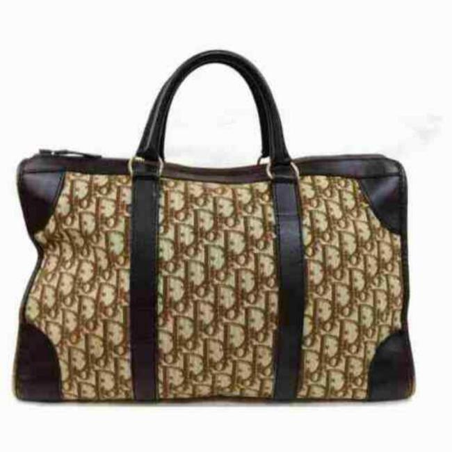Item - Duffle Large Monogram Trotter Boston Carry On Luggage 872947 Light Brown Canvas Weekend/Travel Bag