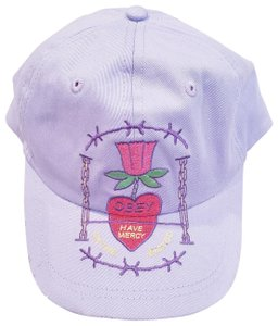 OBEY Obey Women's Hailey Snapback Cap Hat, Lavender, Adjustable Strap, One