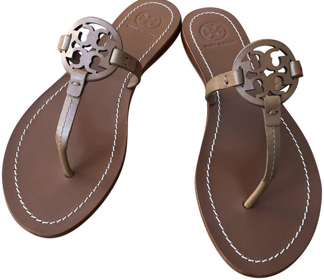 Item - Brown Gabriel Flat Sandals Size US 8.5 Regular (M, B)