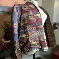 The People Of The Labyrinths Brown Blue Fur Trim Southwest Jacket Size 8 (M) The People Of The Labyrinths Brown Blue Fur Trim Southwest Jacket Size 8 (M) Image 10