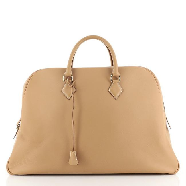 Item - Plume Travel Courchevel 52 Brown Leather Satchel