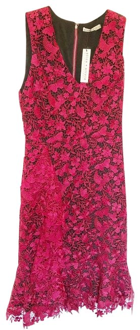 Item - Red Katia Mid-length Cocktail Dress Size 8 (M)