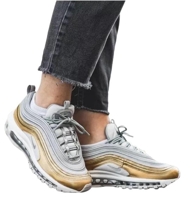 Item - Silver Women's Air Max 97 Se Metallic Max Air Unit Provides Lightweight Cushioning. Style/Color: Sneakers Size US 8.5 Narrow (Aa, N)
