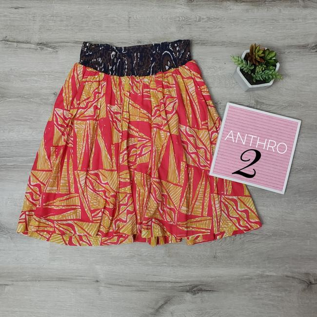 Item - Multi Color Patterned with Pockets Skirt Size 2 (XS, 26)