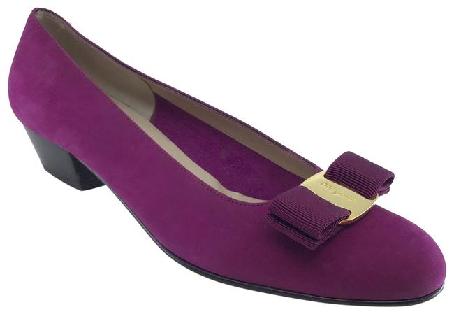 Item - Orchid Suede Varina Bow Classic Flats Size US 5.5 Regular (M, B)