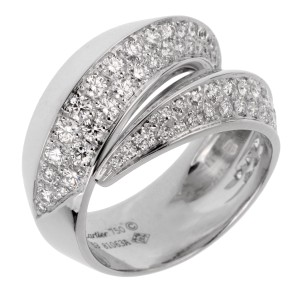 Cartier Cartier Panthere White Gold Diamond Cocktail Ring 2474