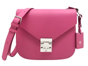 MCM Patricia Leather Timeless Cross Body Bag