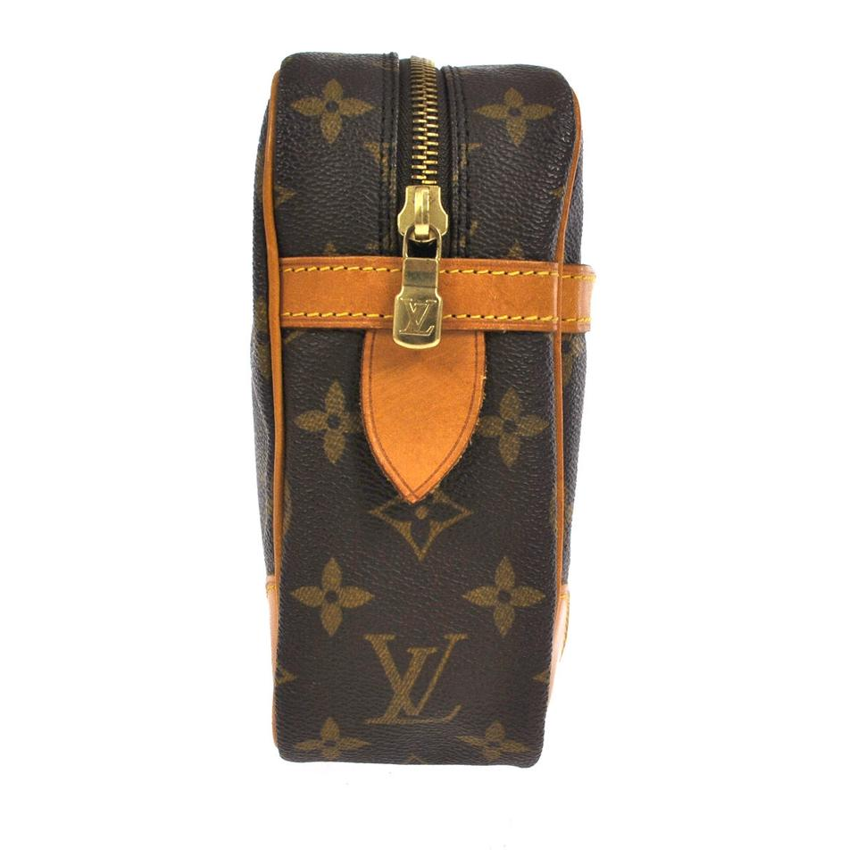 louis vuitton louis vuitton monogram compiegne 28 clutch. Black Bedroom Furniture Sets. Home Design Ideas