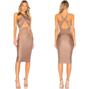Michael Costello Cut Bodycon Sexy Date Dress