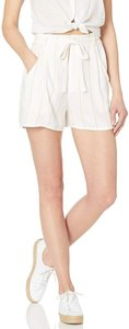 Obey Paperbag Soft Comfortable Boyfriend Casual Dress Shorts White