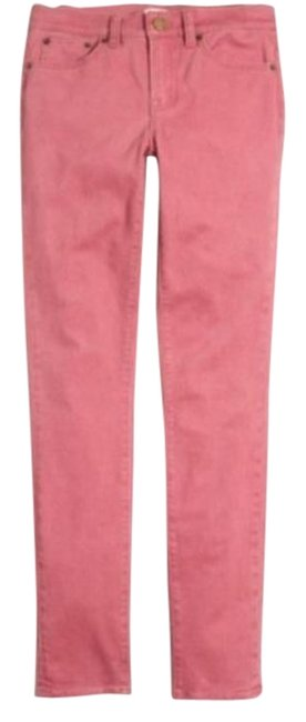 Item - Pink Light Wash Garment Dyed Skinny Jeans Size 30 (6, M)