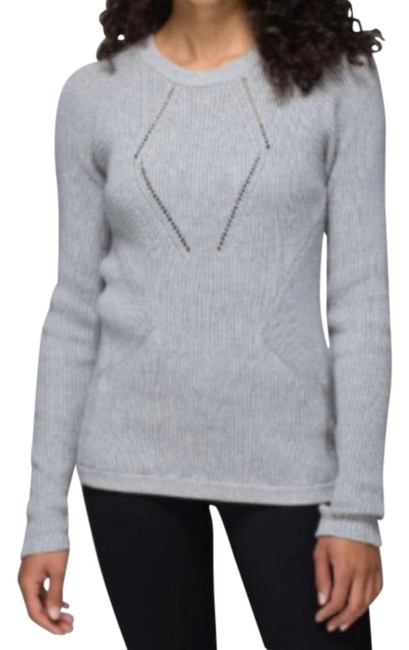 Item - Heathered Grey The Sweater The Better Activewear Top Size 2 (XS)