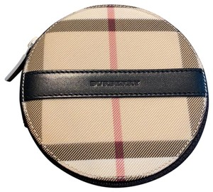 Burberry Burberry Round Zippered Coin Purse