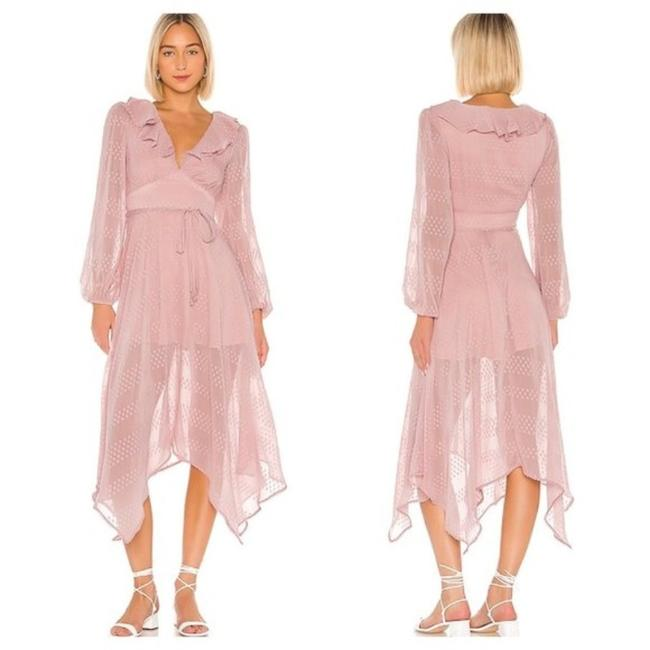 Item - Petal Pink Madeline Mid-length Casual Maxi Dress Size 4 (S)