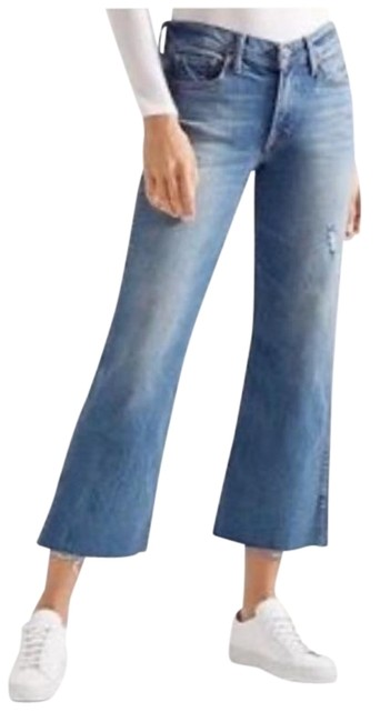 Item - Magnetic Distressed Joan High Rise Crop Flare Leg Jeans Size 28 (4, S)