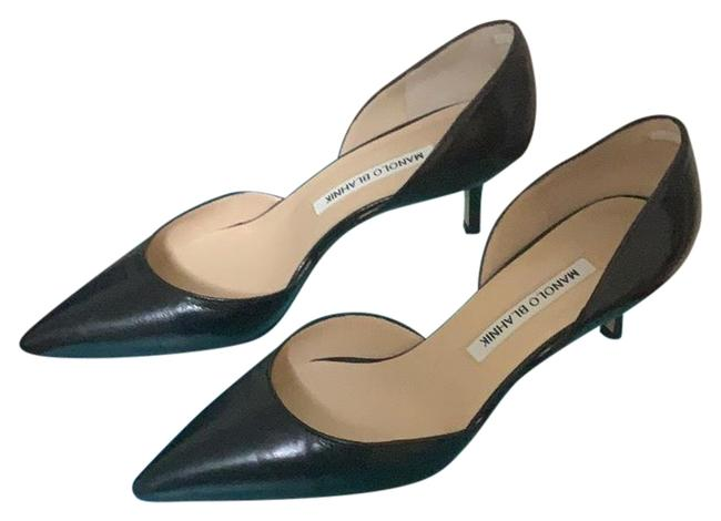 Item - Black Pumps Size US 8 Regular (M, B)