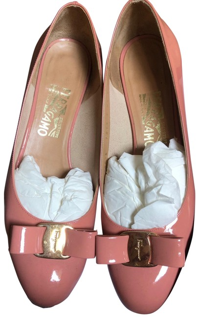 "Item - Pink Vara 1"" Patent Leather Pumps Size US 8.5 Wide (C, D)"