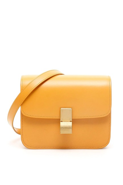 Item - Cr Teen Classic Yellow Leather Shoulder Bag